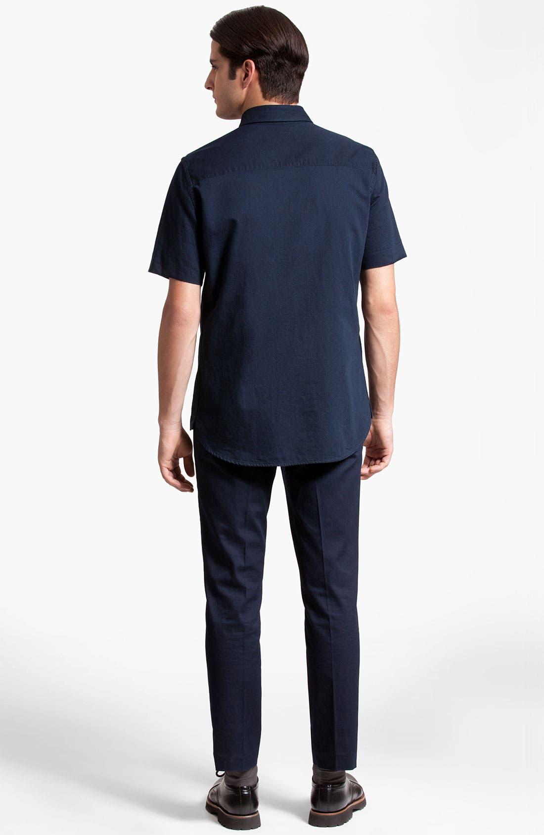 Alternate Image 5  - Marni Short Sleeve Denim Shirt