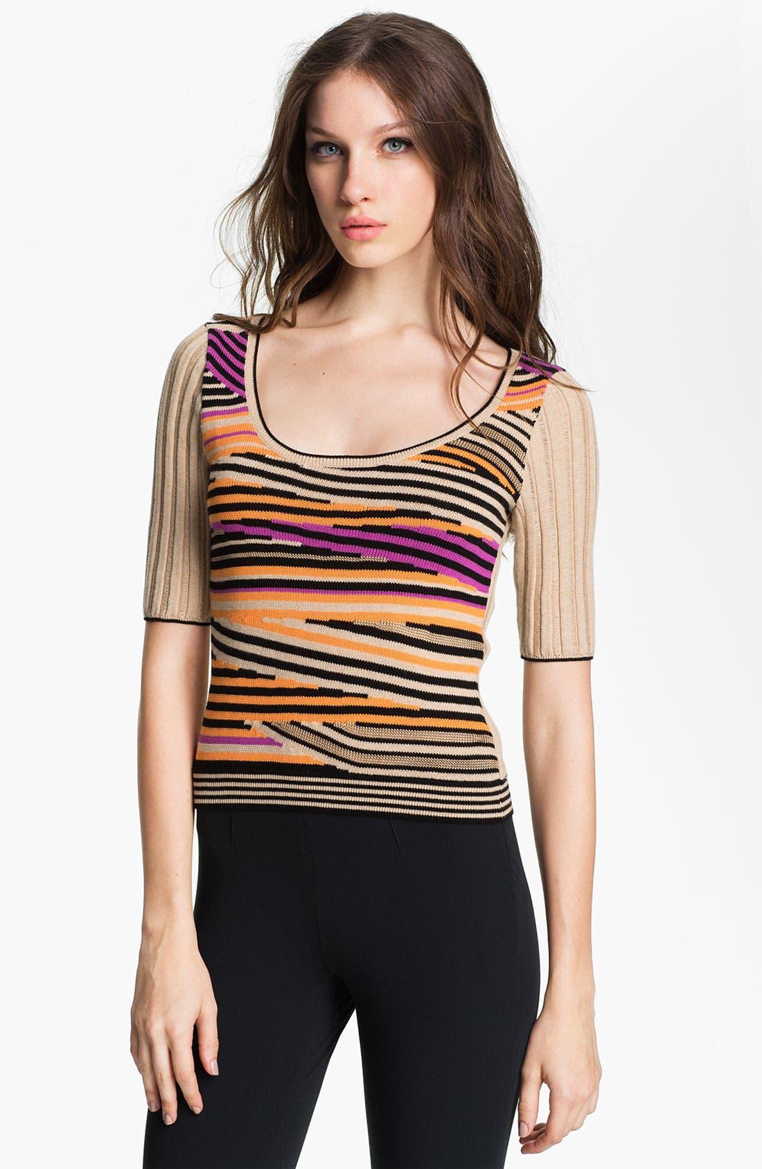 Alternate Image 1 Selected - Nanette Lepore 'Entranced' Crop Sweater