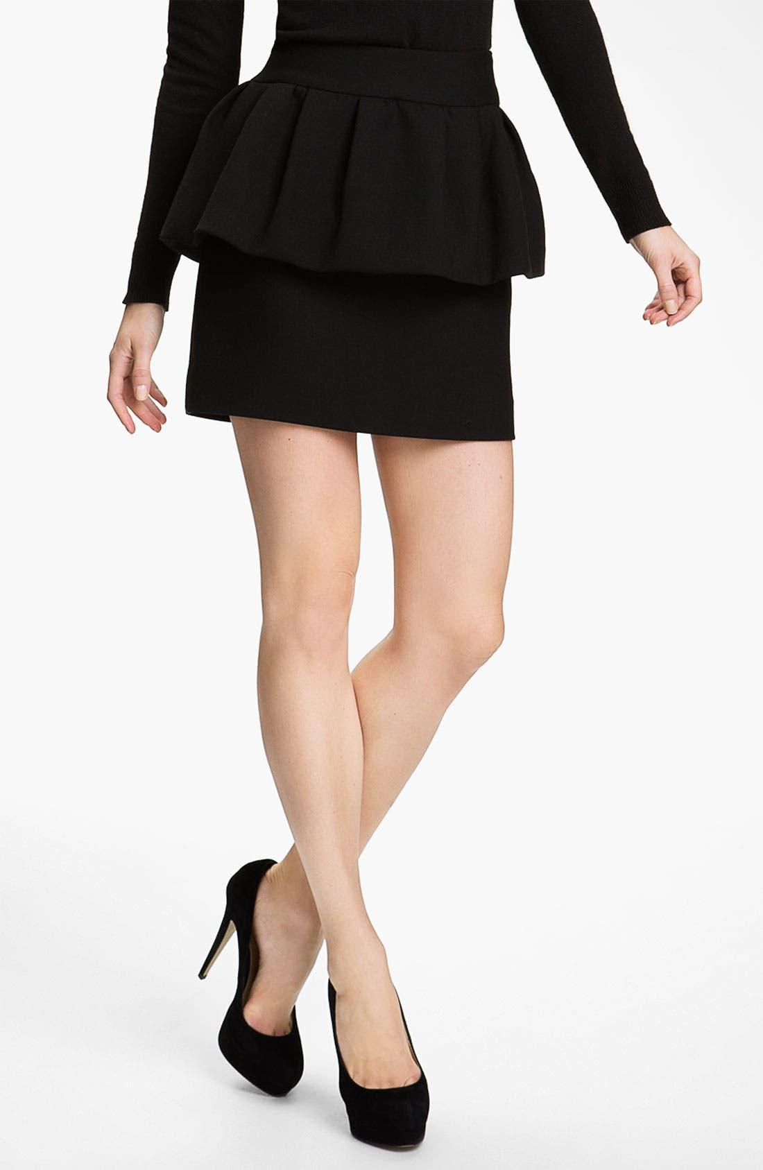 Main Image - Milly 'Laurel' Peplum Skirt