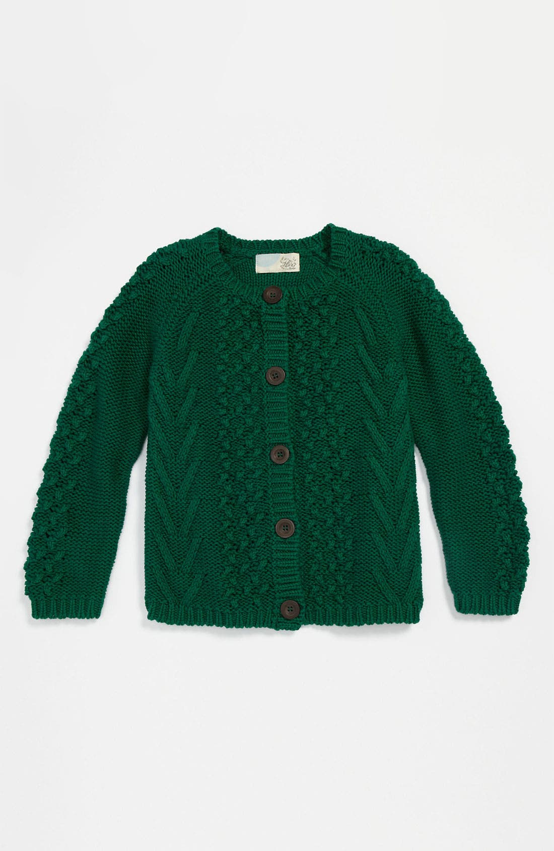Alternate Image 1 Selected - Peek 'Clara' Cardigan (Toddler, Little Girls & Big Girls)