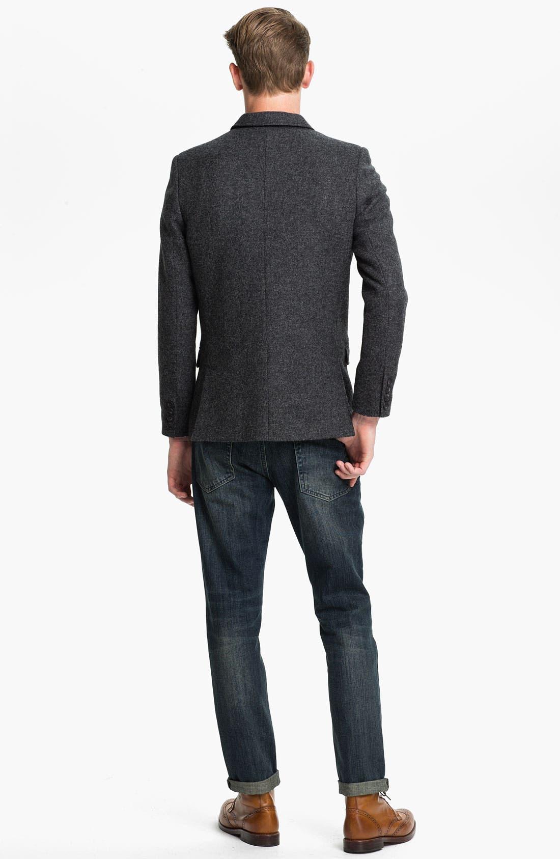 Alternate Image 5  - Topman Wool Waistcoat