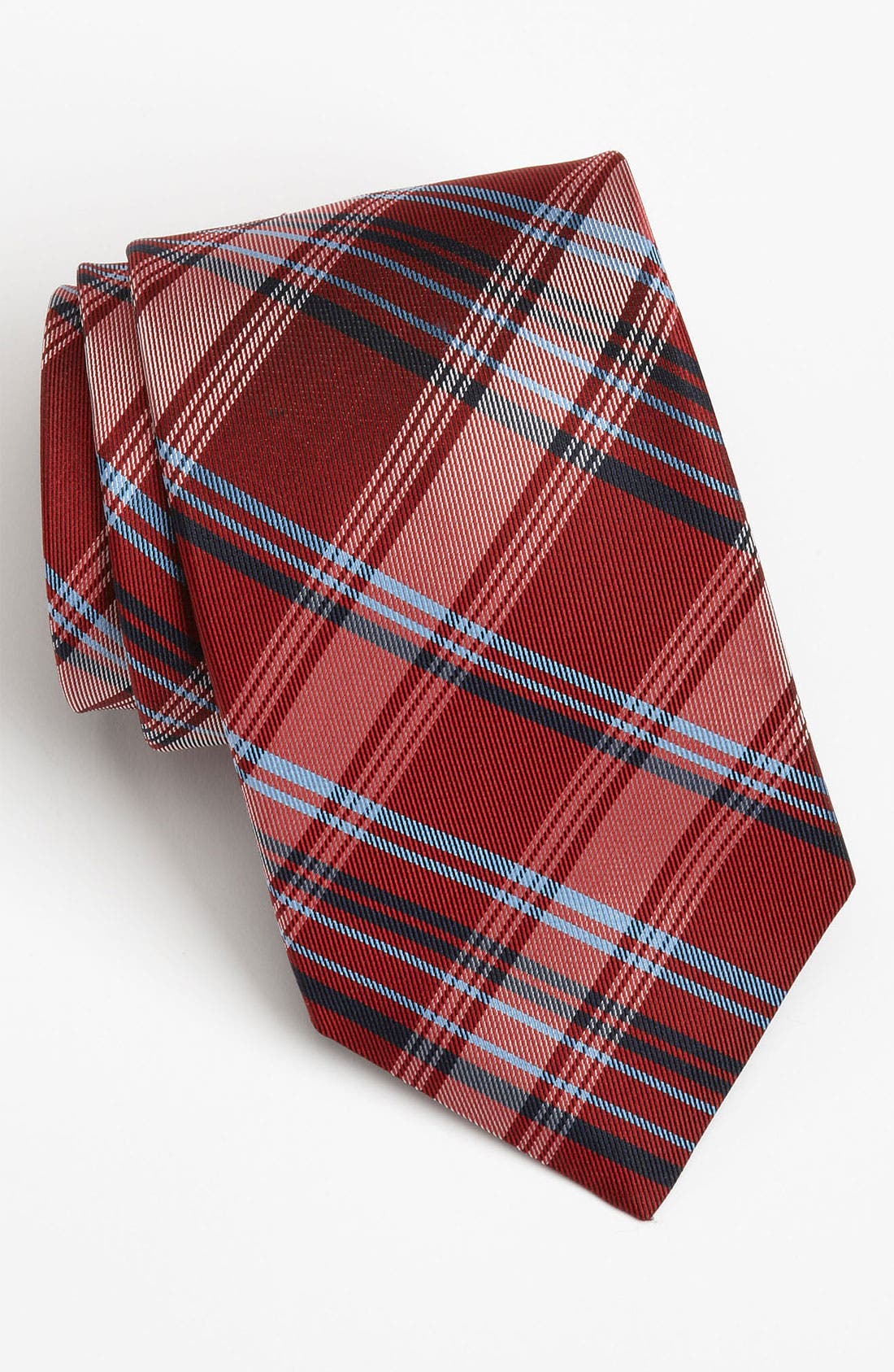 Nordstrom Woven Silk Tie,                         Main,                         color, Red