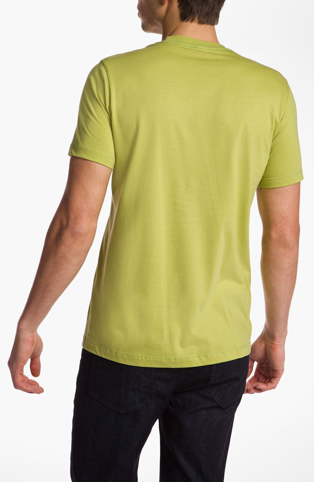 Alternate Image 2  - Topless 'Dreaming Green' T-Shirt