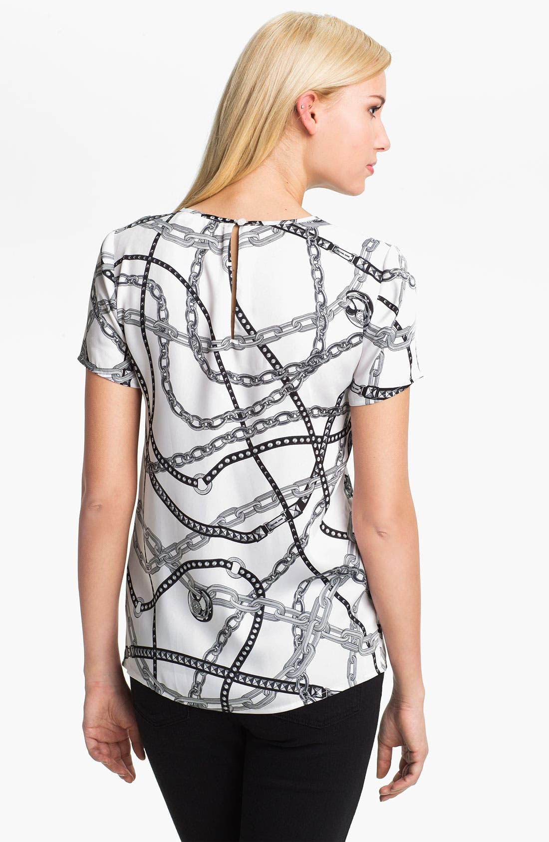 Alternate Image 2  - MICHAEL Michael Kors Chain Print Tee