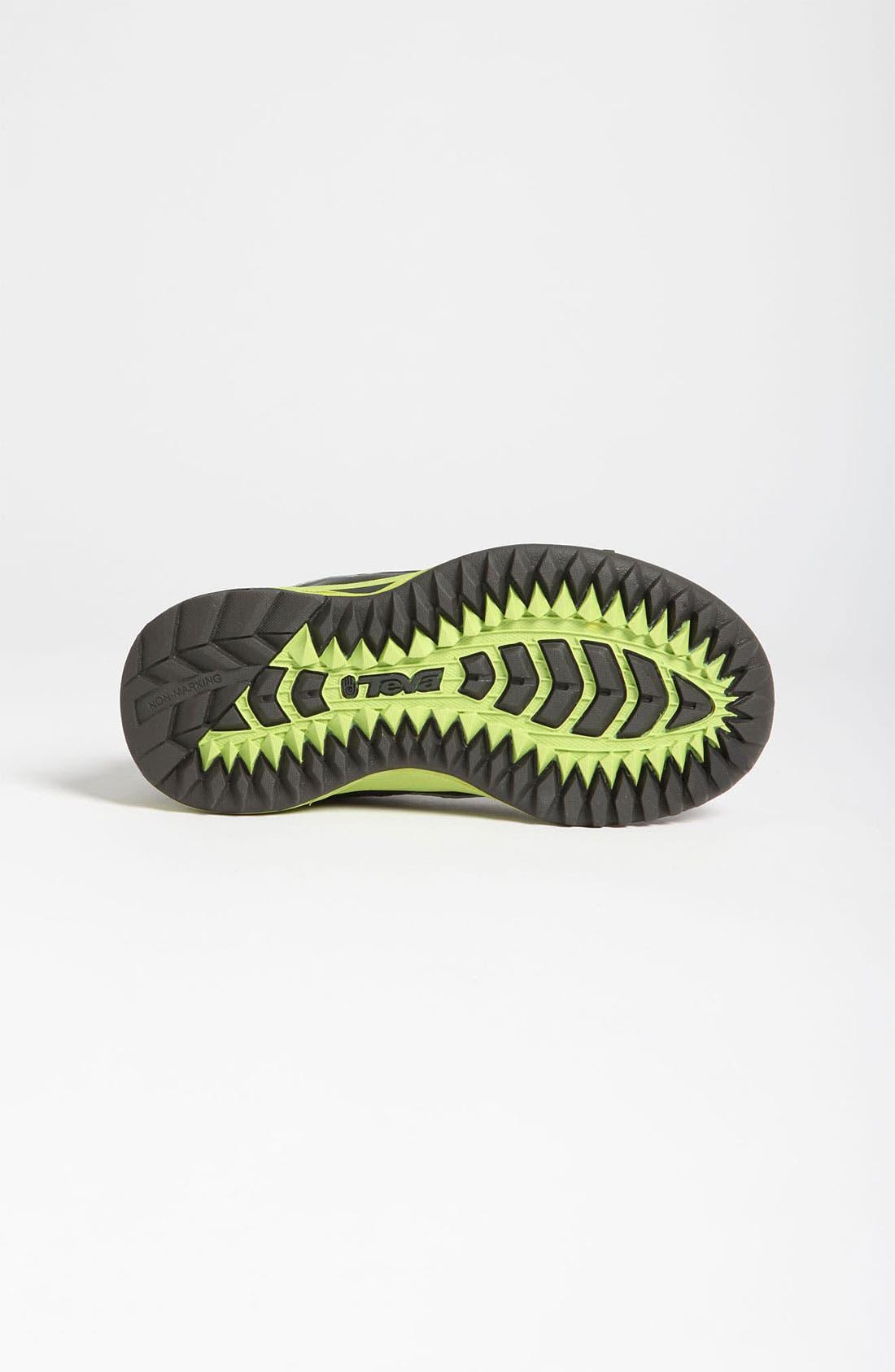 Alternate Image 4  - Teva 'Charge' Waterproof Sneaker (Toddler & Little Kid)
