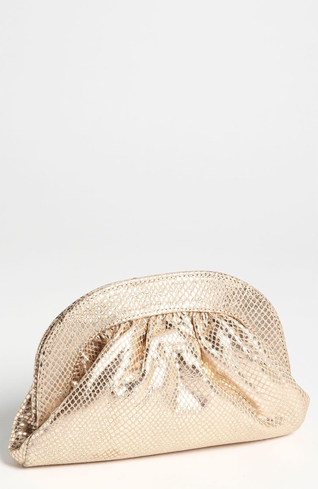 Main Image - Lauren Merkin 'Vivi' Snake Embossed Clutch