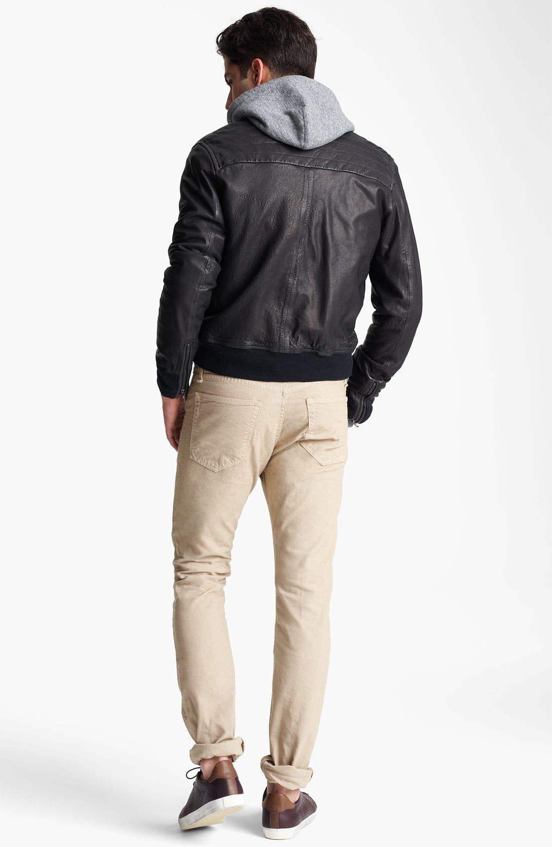 Alternate Image 5  - rag & bone Leather Bomber Jacket