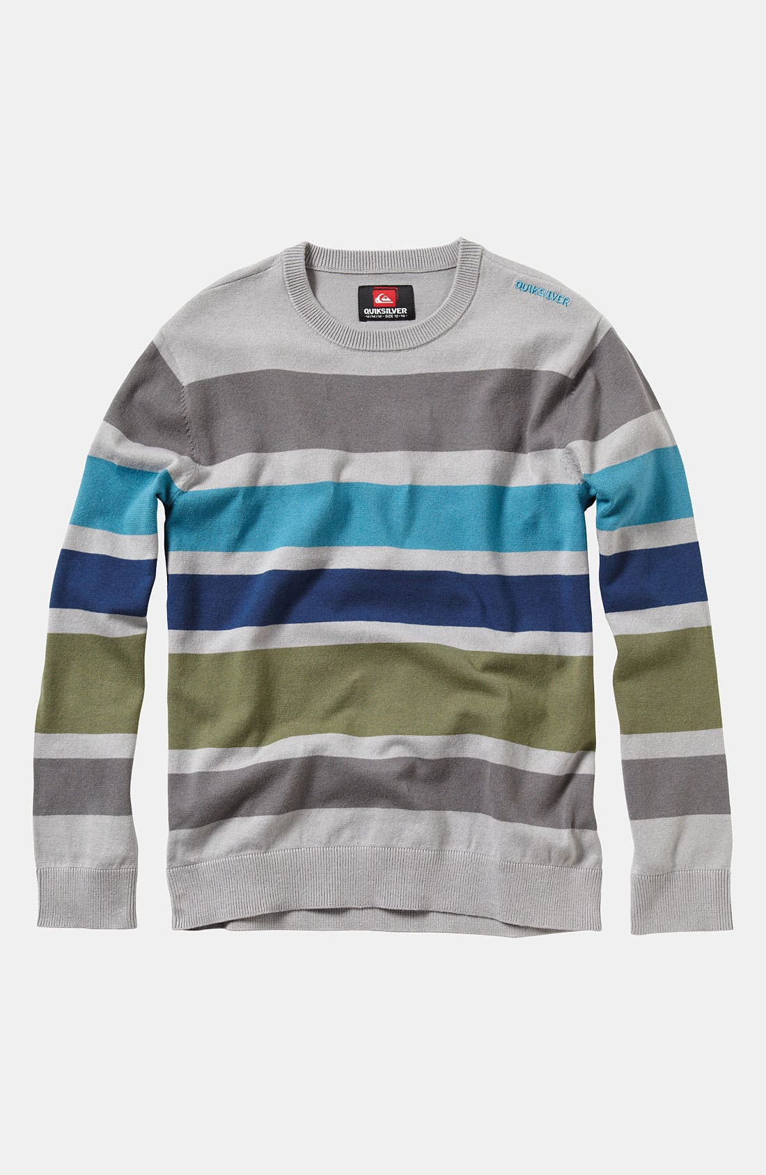 Alternate Image 1 Selected - Quiksilver 'Casting' Sweater (Little Boys)