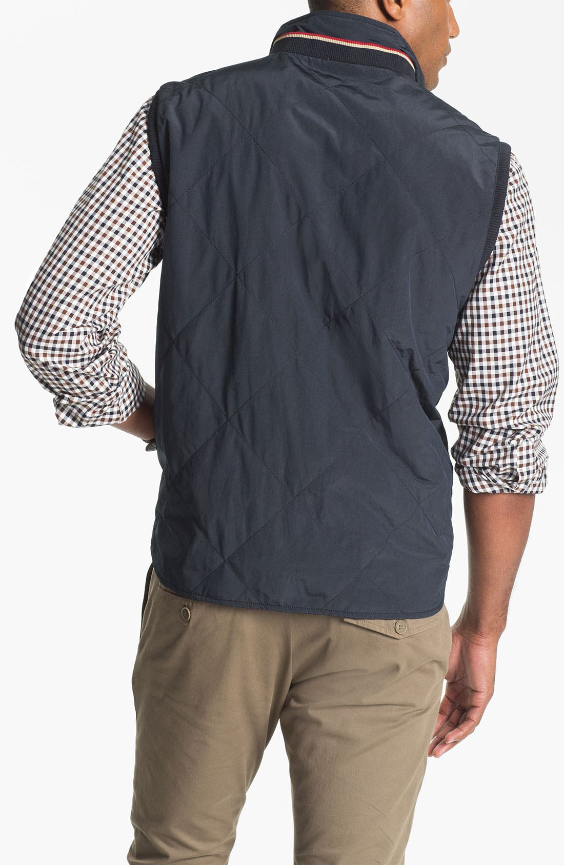 Alternate Image 2  - Façonnable Reversible Quilted Vest