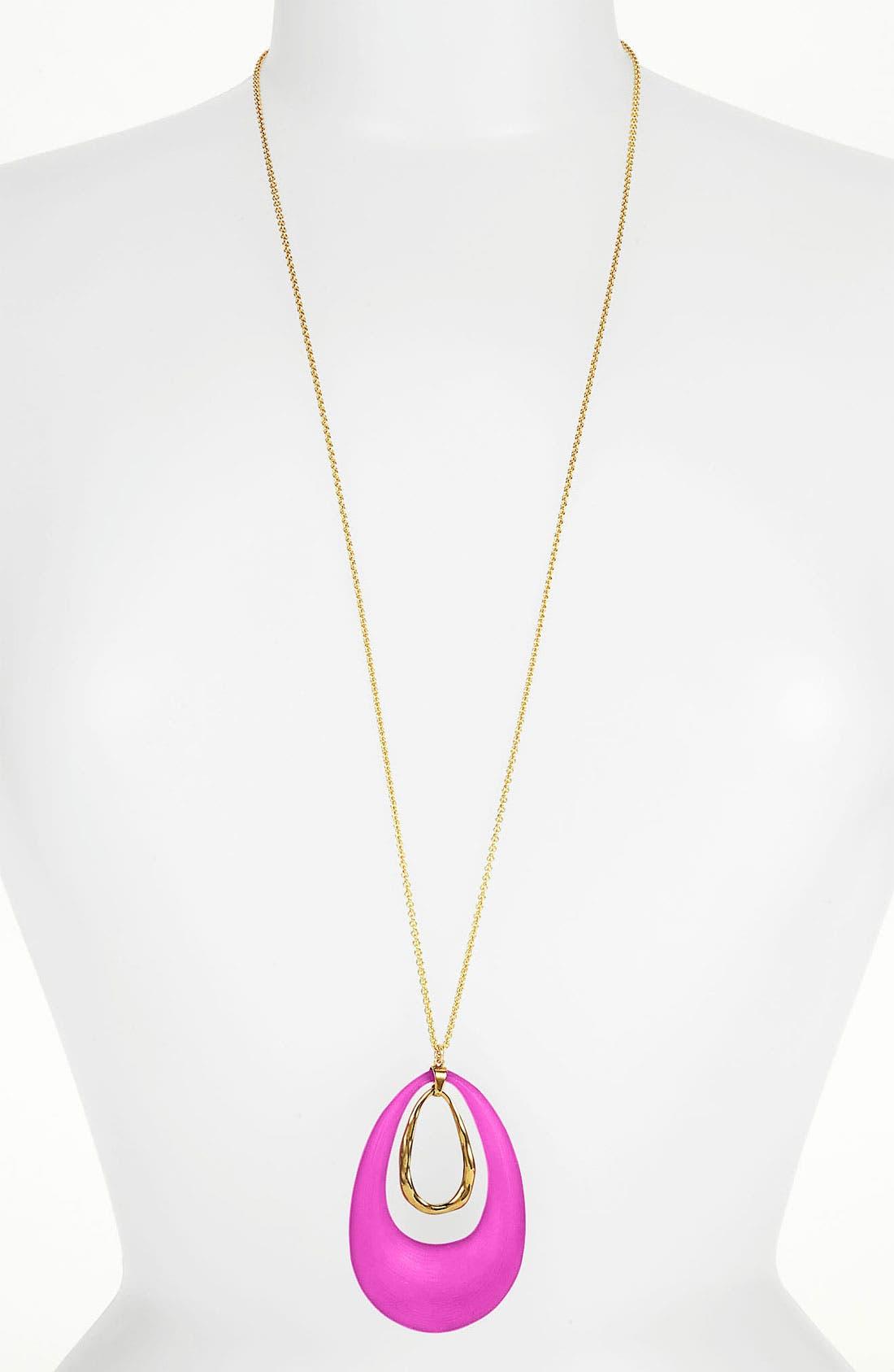 Main Image - Alexis Bittar 'Lucite®' Long Pendant Necklace
