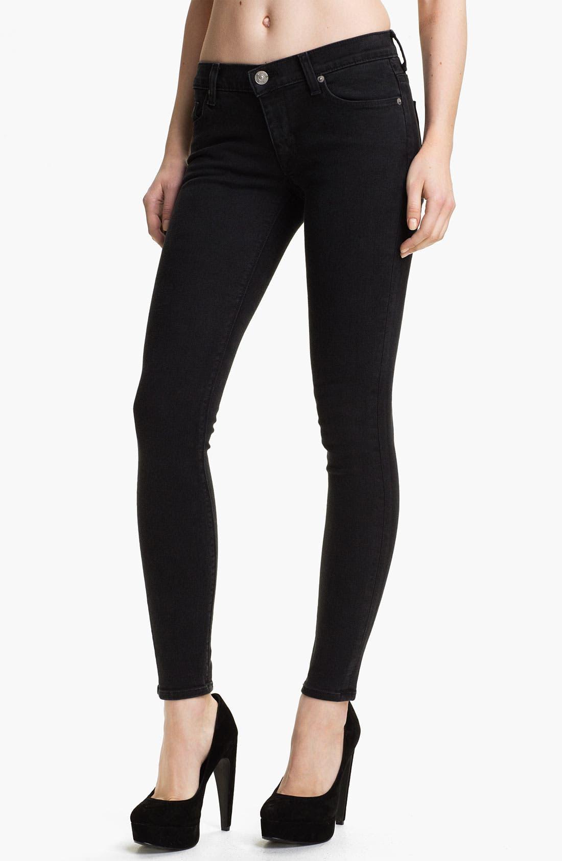 Main Image - Hudson Jeans 'Krista' Super Skinny Jeans (Maiden)