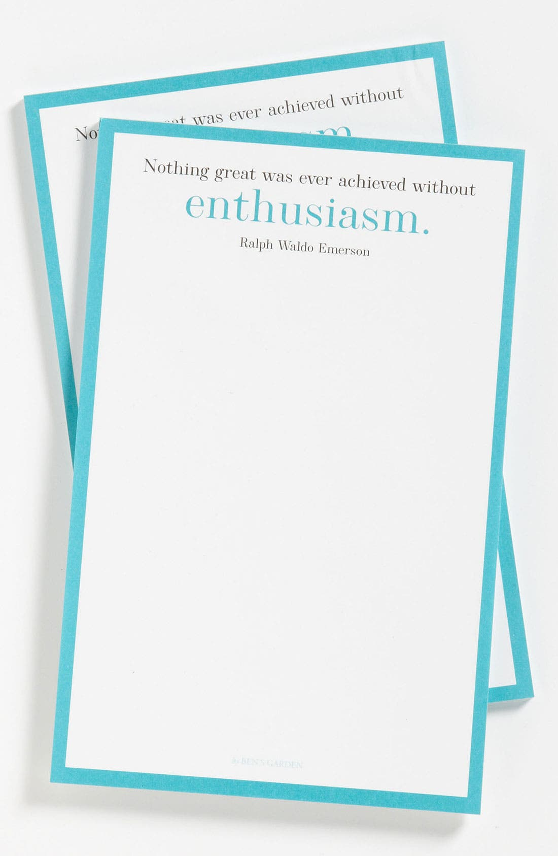 Alternate Image 1 Selected - Ben's Garden 'Nothing Great' Notepads (2-Pack)