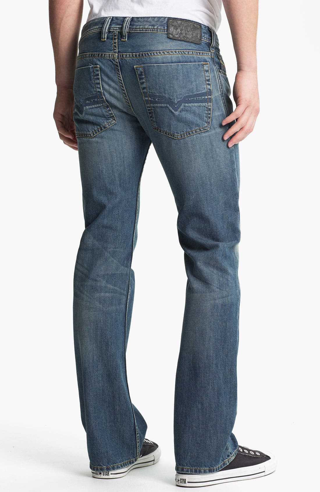 Alternate Image 1 Selected - DIESEL® 'Zatiny' Bootcut Jeans (0806S)