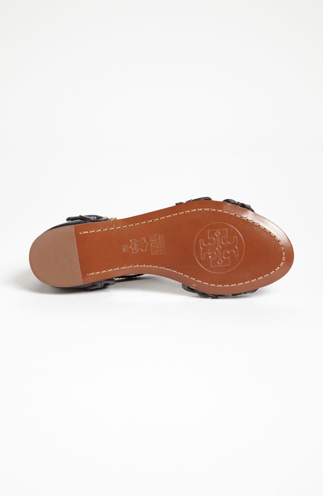 Alternate Image 4  - Tory Burch 'Aileen' Flat Sandal