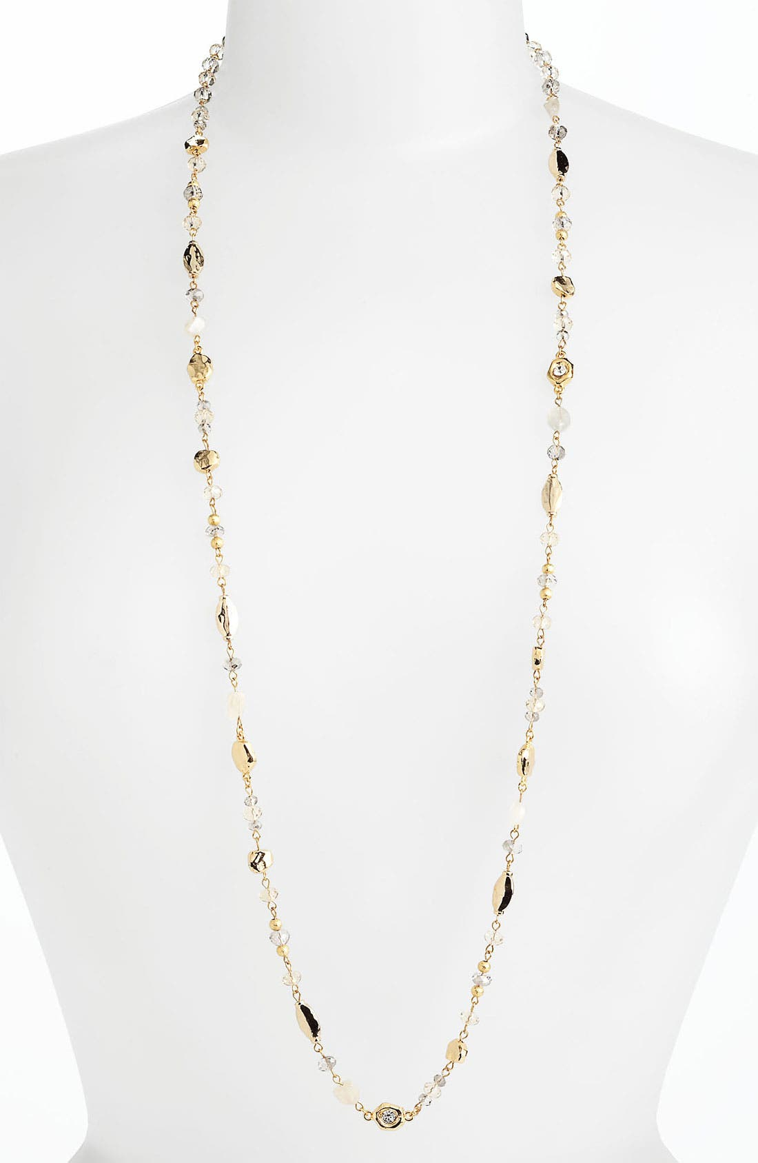 Alternate Image 1 Selected - Nordstrom 'Sand Dollar' Long Station Necklace