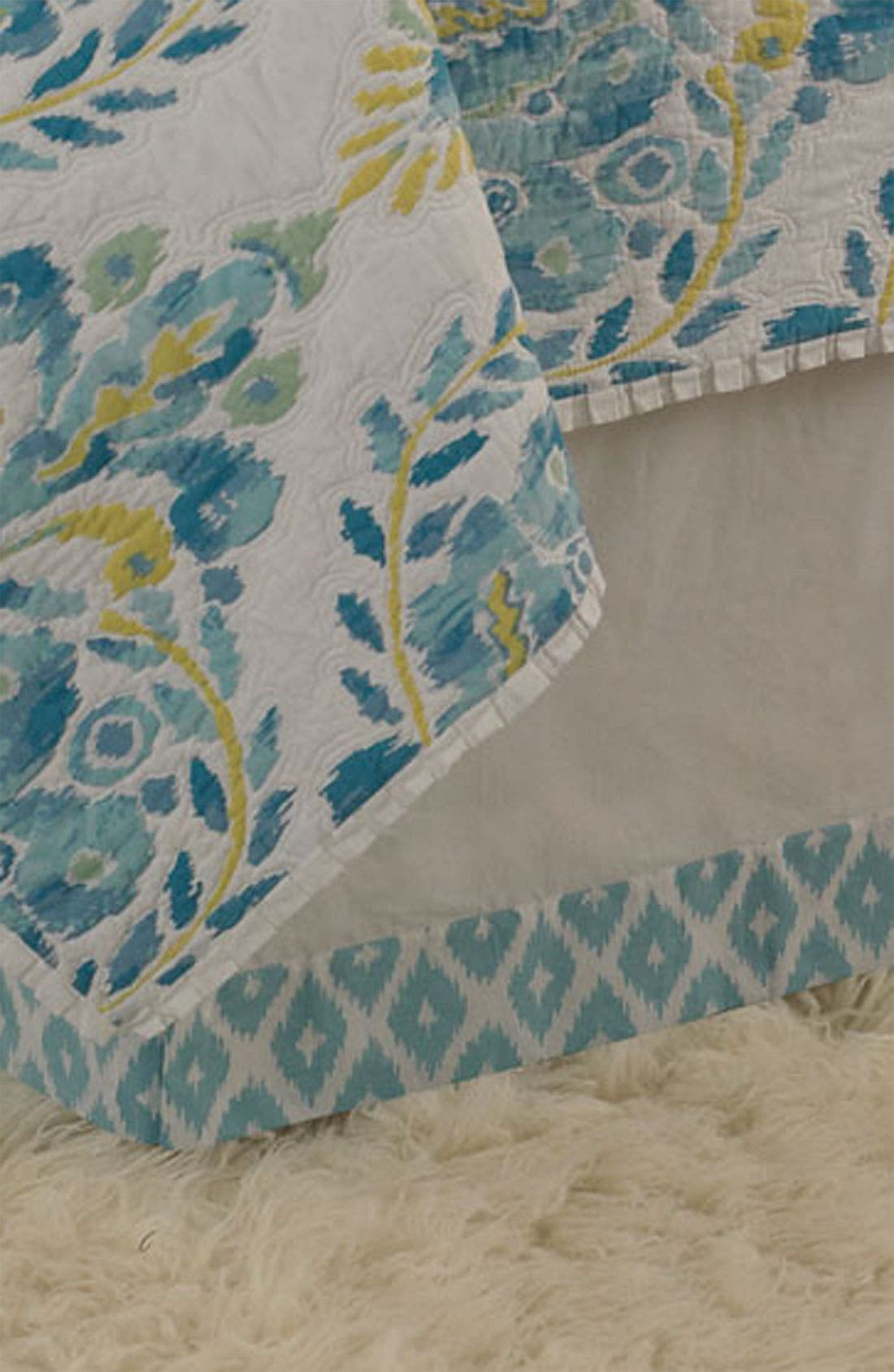 Alternate Image 1 Selected - Dena Home 'Blue Dove' Bed Skirt