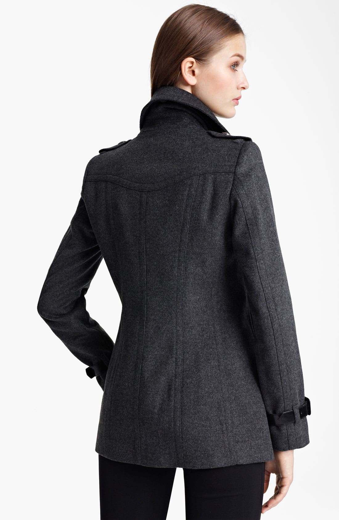 Alternate Image 2  - Burberry London Wool & Cashmere Jacket