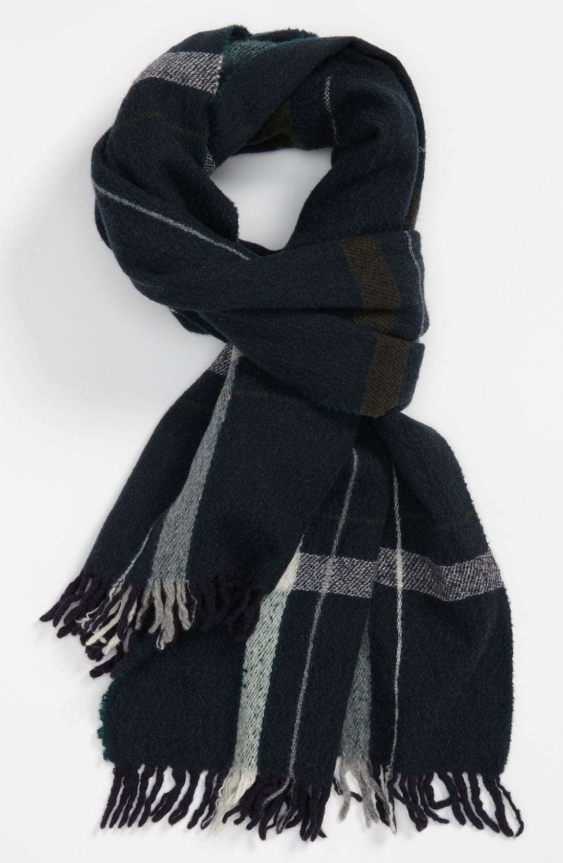 Alternate Image 1 Selected - rag & bone Check Wool Scarf