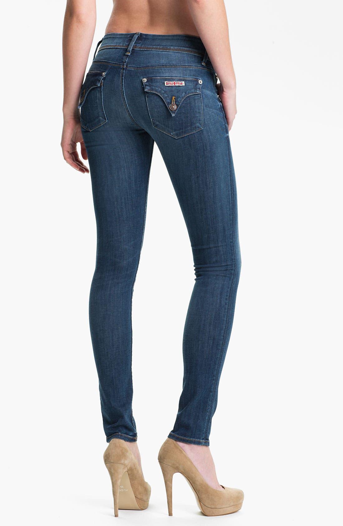 Alternate Image 2  - Hudson Jeans 'Collin' Skinny Jeans (Stella)