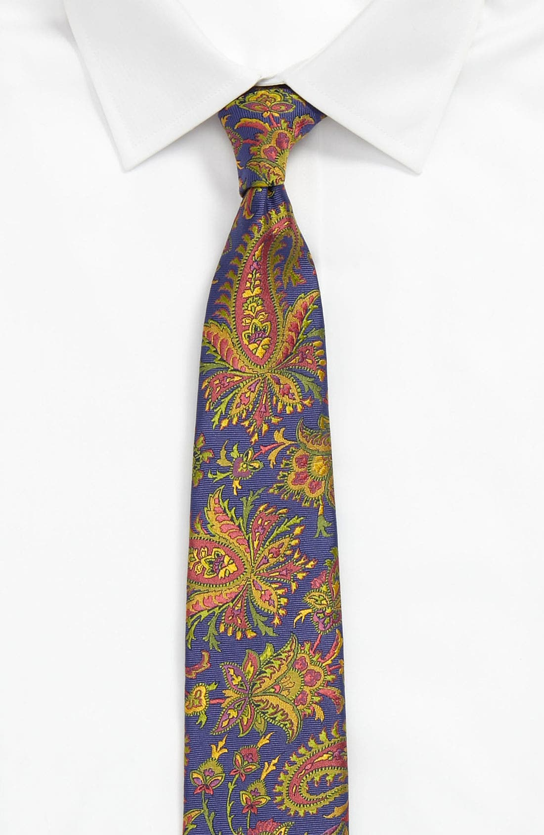 Alternate Image 3  - Etro Woven Silk Tie