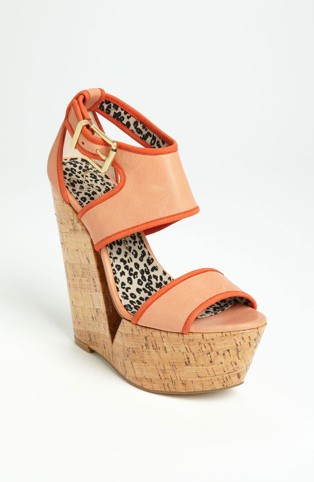 Alternate Image 1 Selected - Jessica Simpson 'Selin' Sandal