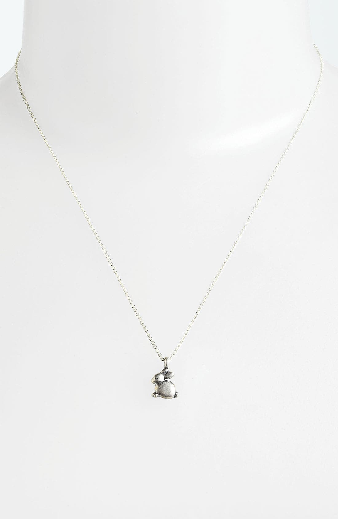 Alternate Image 2  - Dogeared 'Some Bunny Loves You' Pendant Necklace
