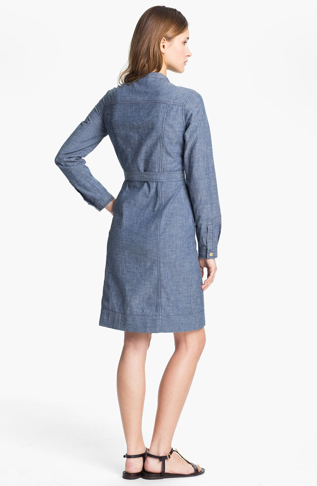 Alternate Image 2  - Tory Burch 'Cora' Cotton Shirtdress