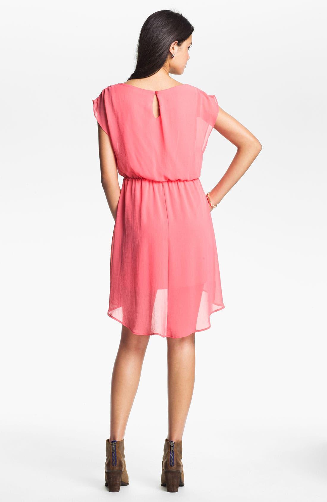 Alternate Image 2  - Dakota' Chiffon Dress