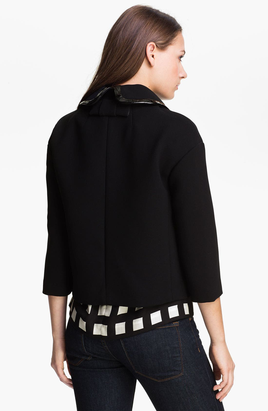 Alternate Image 2  - kate spade new york 'ellie' crop jacket