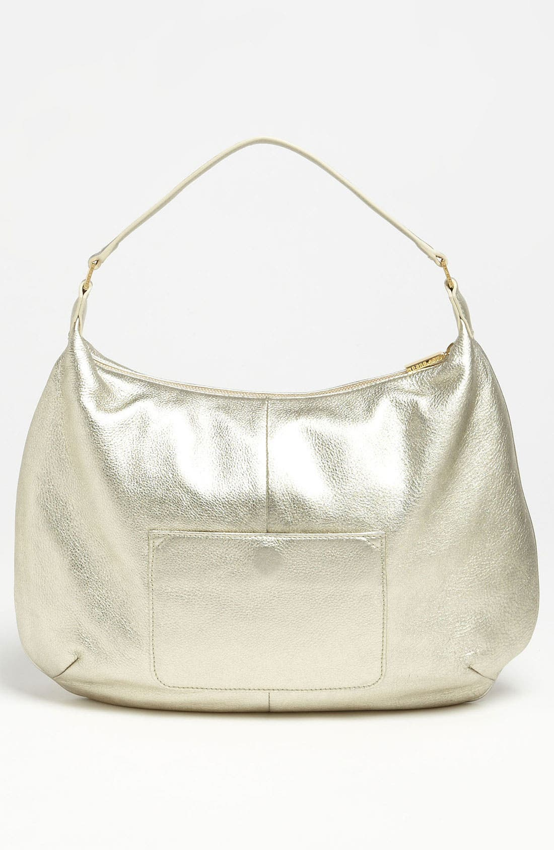 Alternate Image 4  - Tory Burch Perforated Logo Metallic Leather Hobo