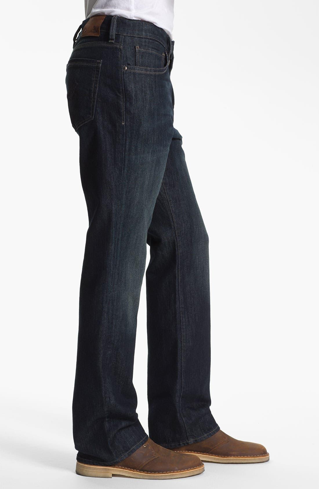 Alternate Image 3  - 34 Heritage 'Charisma' Straight Leg Jeans (Deep) (Online Only)