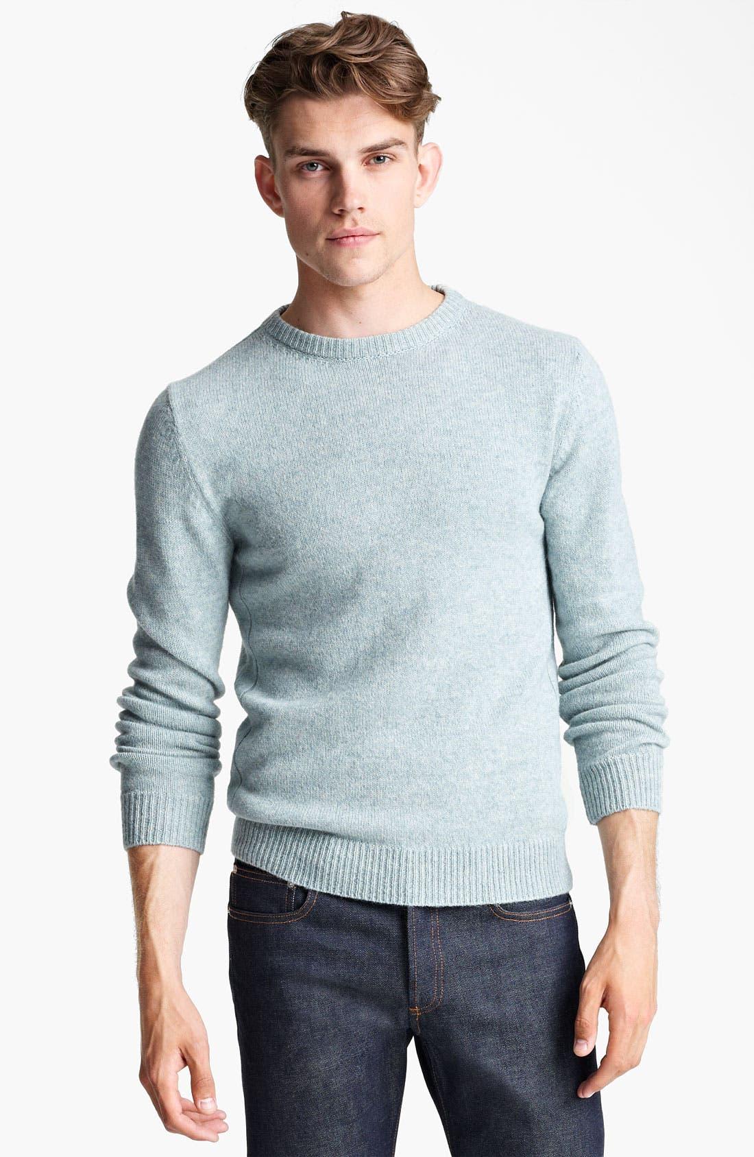 Alternate Image 1 Selected - A.P.C. Crewneck Sweater