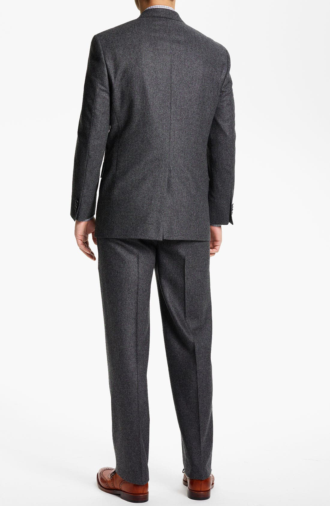 Alternate Image 3  - Hart Schaffner Marx Flannel Suit