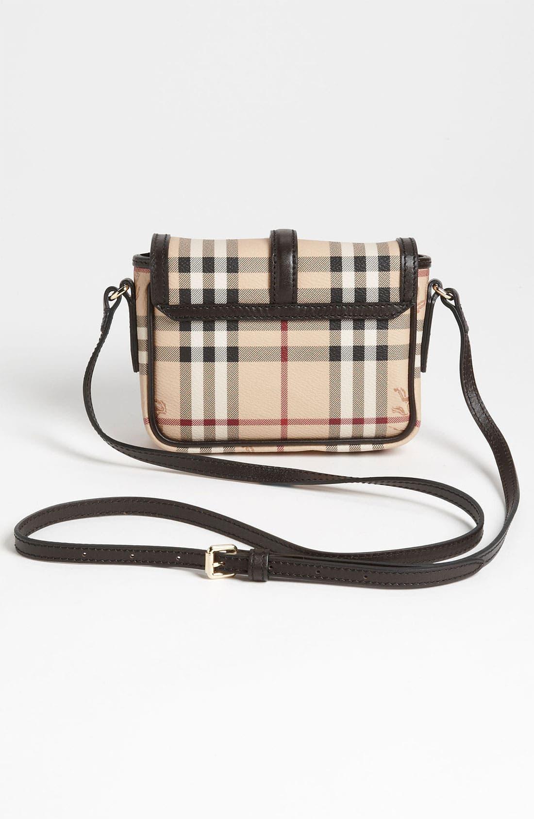 Alternate Image 4  - Burberry 'Haymarket Check' Crossbody Bag