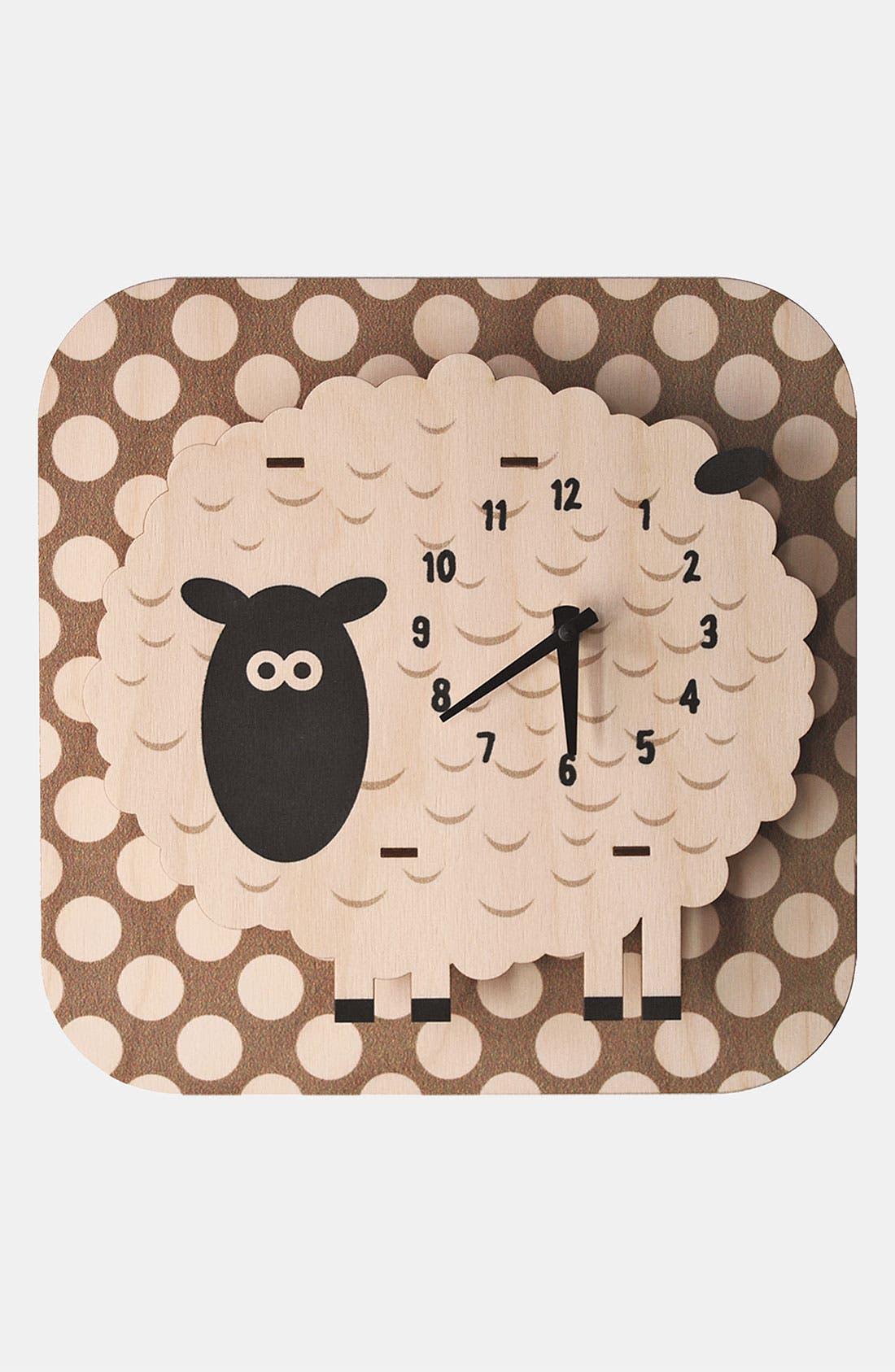 Main Image - Modern Moose 'Sheep Dots' Clock
