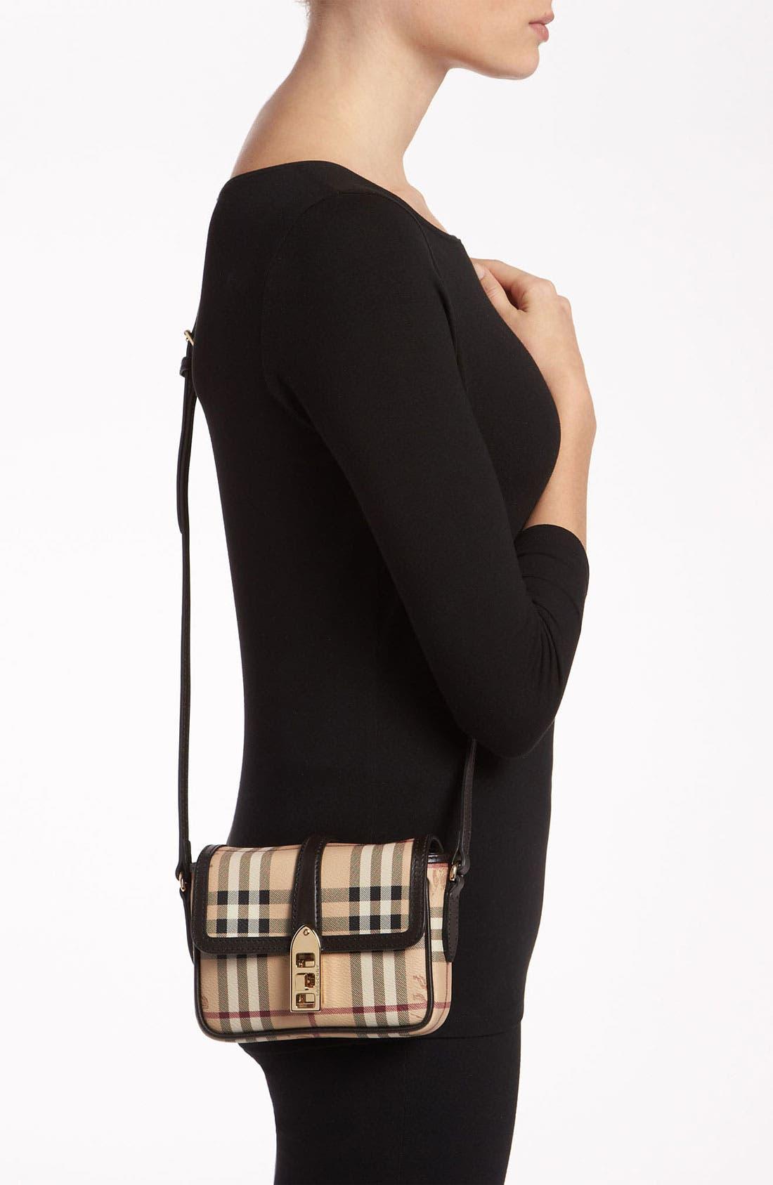 Alternate Image 2  - Burberry 'Haymarket Check' Crossbody Bag
