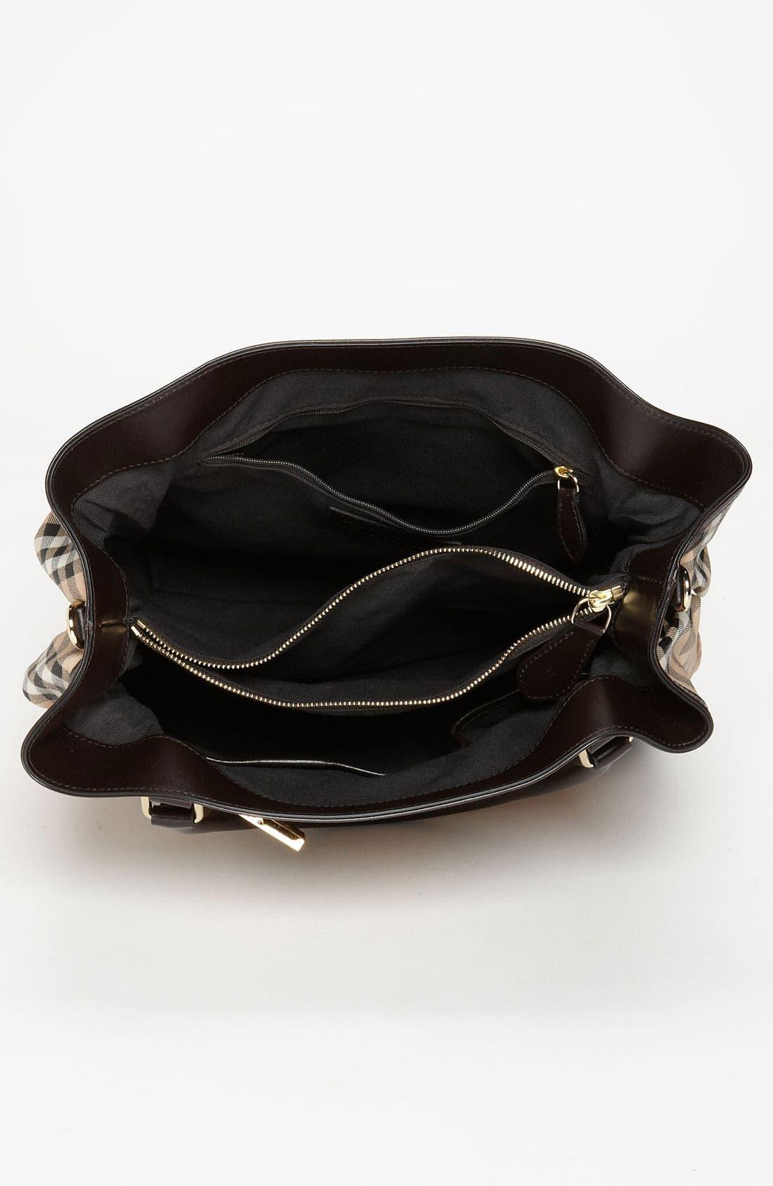 Alternate Image 3  - Burberry Belted Check Print Shoulder Bag