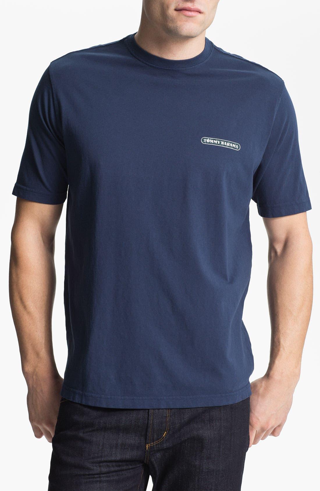 Alternate Image 1 Selected - Tommy Bahama 'Holiday Lights' T-Shirt