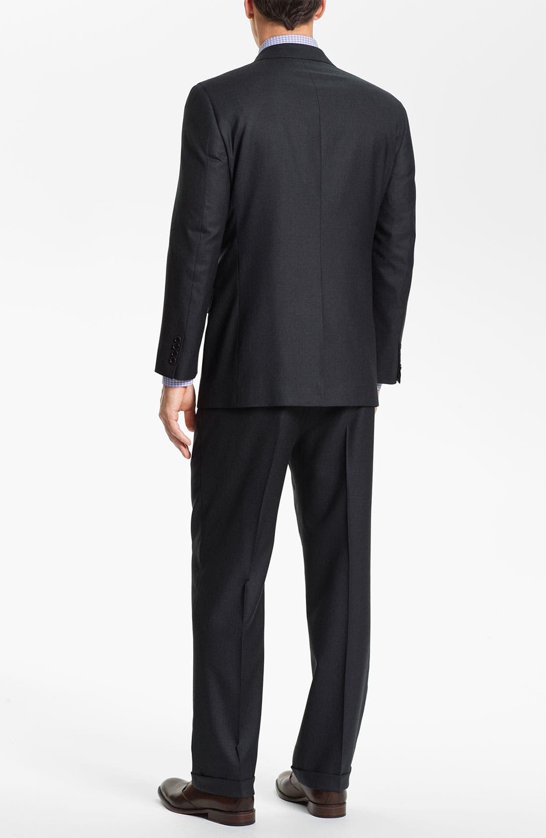 Alternate Image 3  - Brooks Brothers 'Madison' Wool Suit