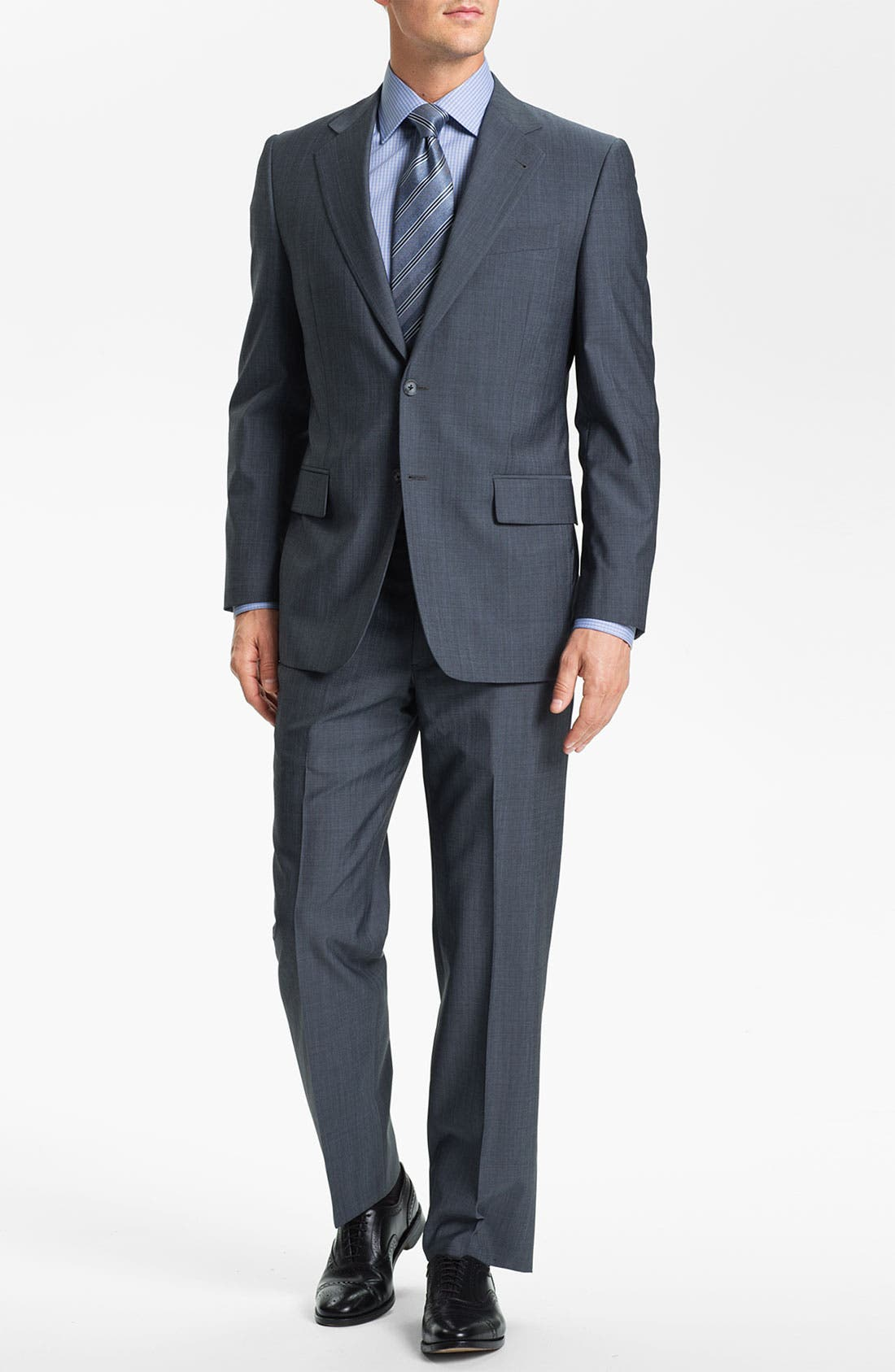 Alternate Image 2  - Joseph Abboud Wool Suit
