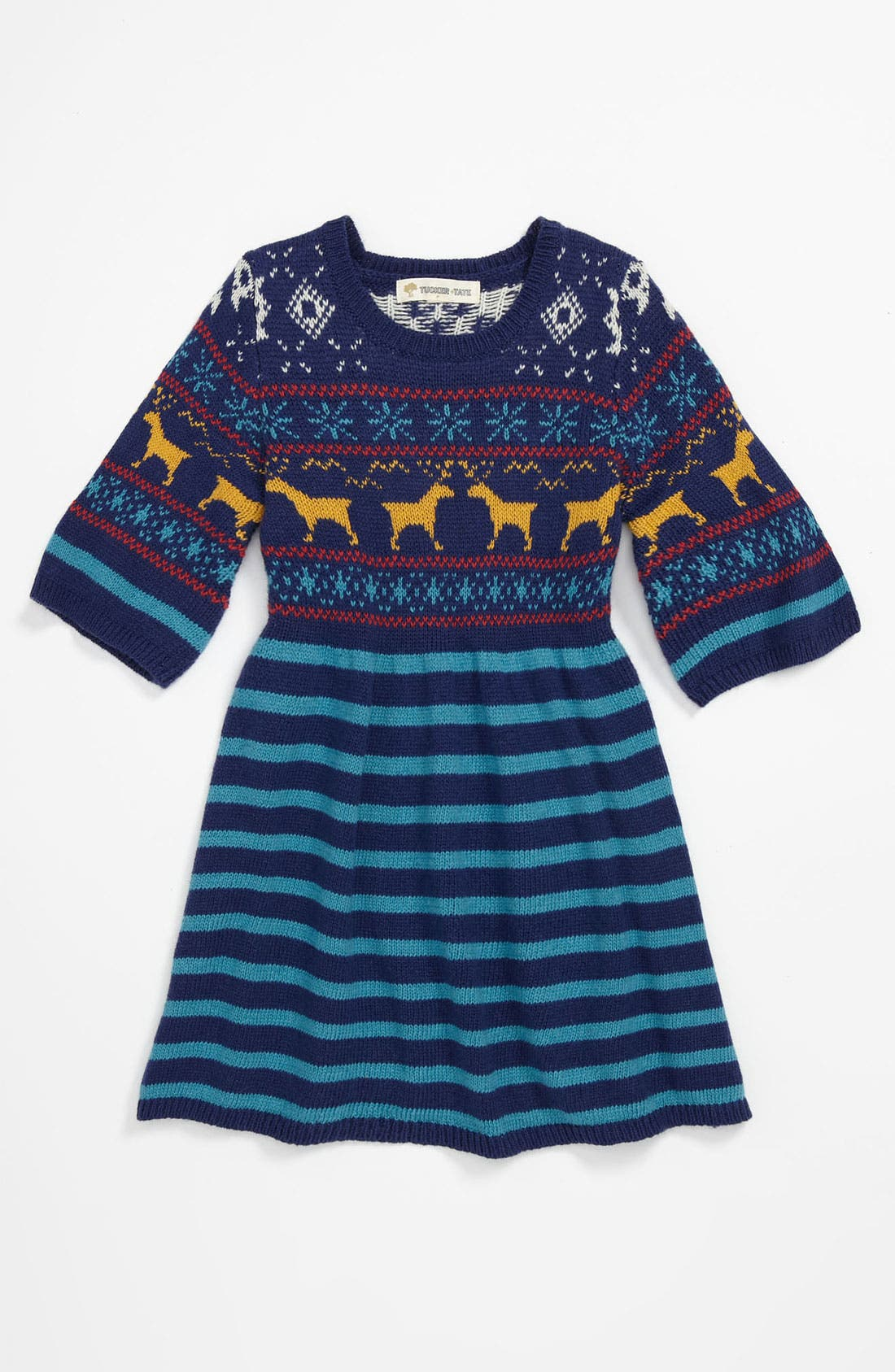 Alternate Image 1 Selected - Tucker + Tate 'Faye' Sweater Dress (Toddler)