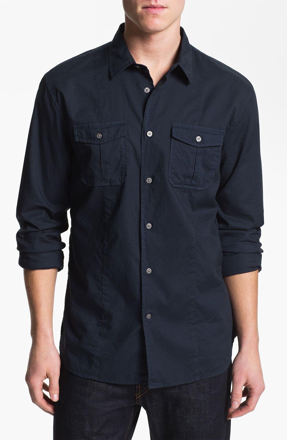 Alternate Image 1 Selected - John Varvatos Star USA Trim Fit Sport Shirt