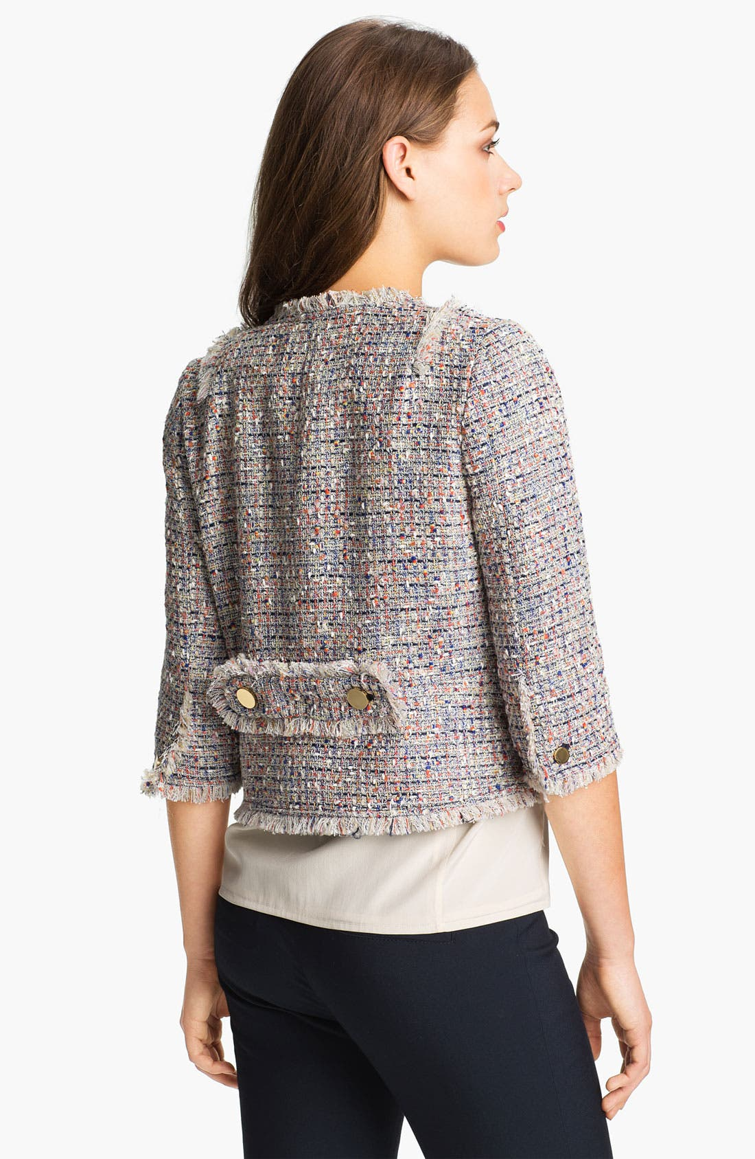 Alternate Image 2  - Tory Burch 'Emma' Crop Jacket
