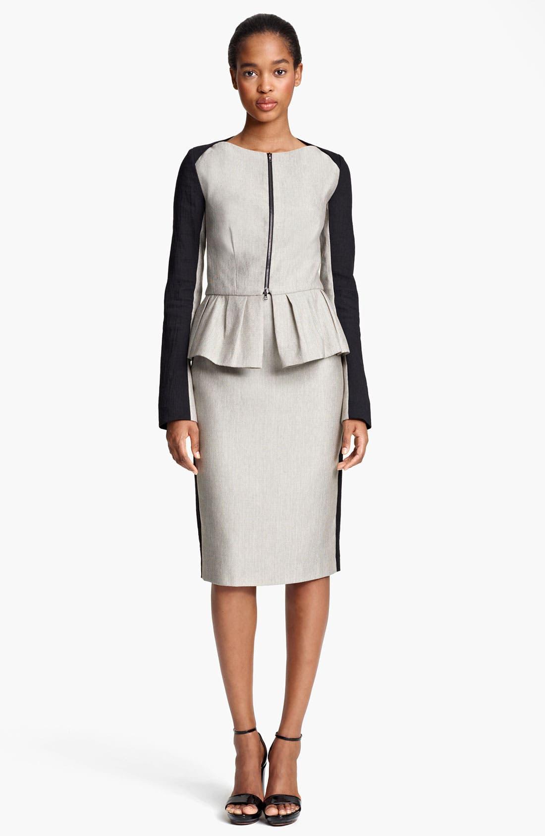 Alternate Image 1 Selected - Lida Baday Jacket & Skirt
