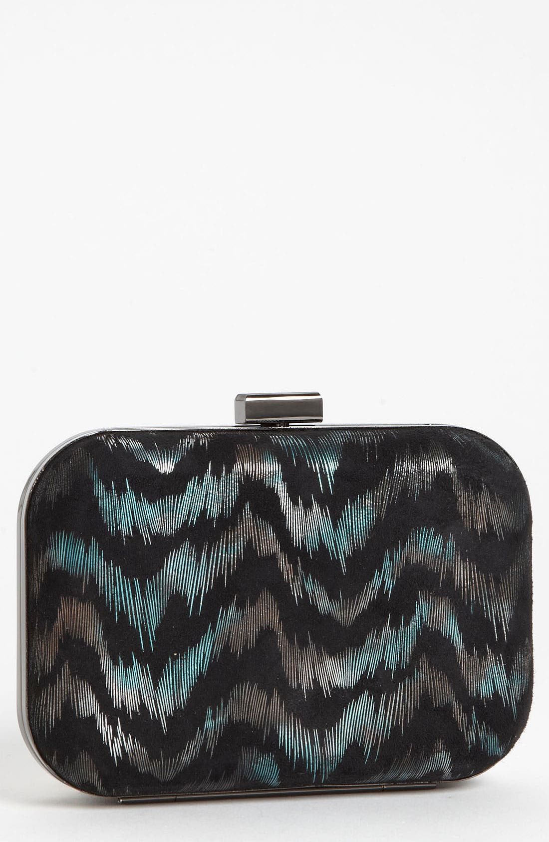 Alternate Image 1 Selected - Inge Christopher 'Metallic Wave' Box Clutch