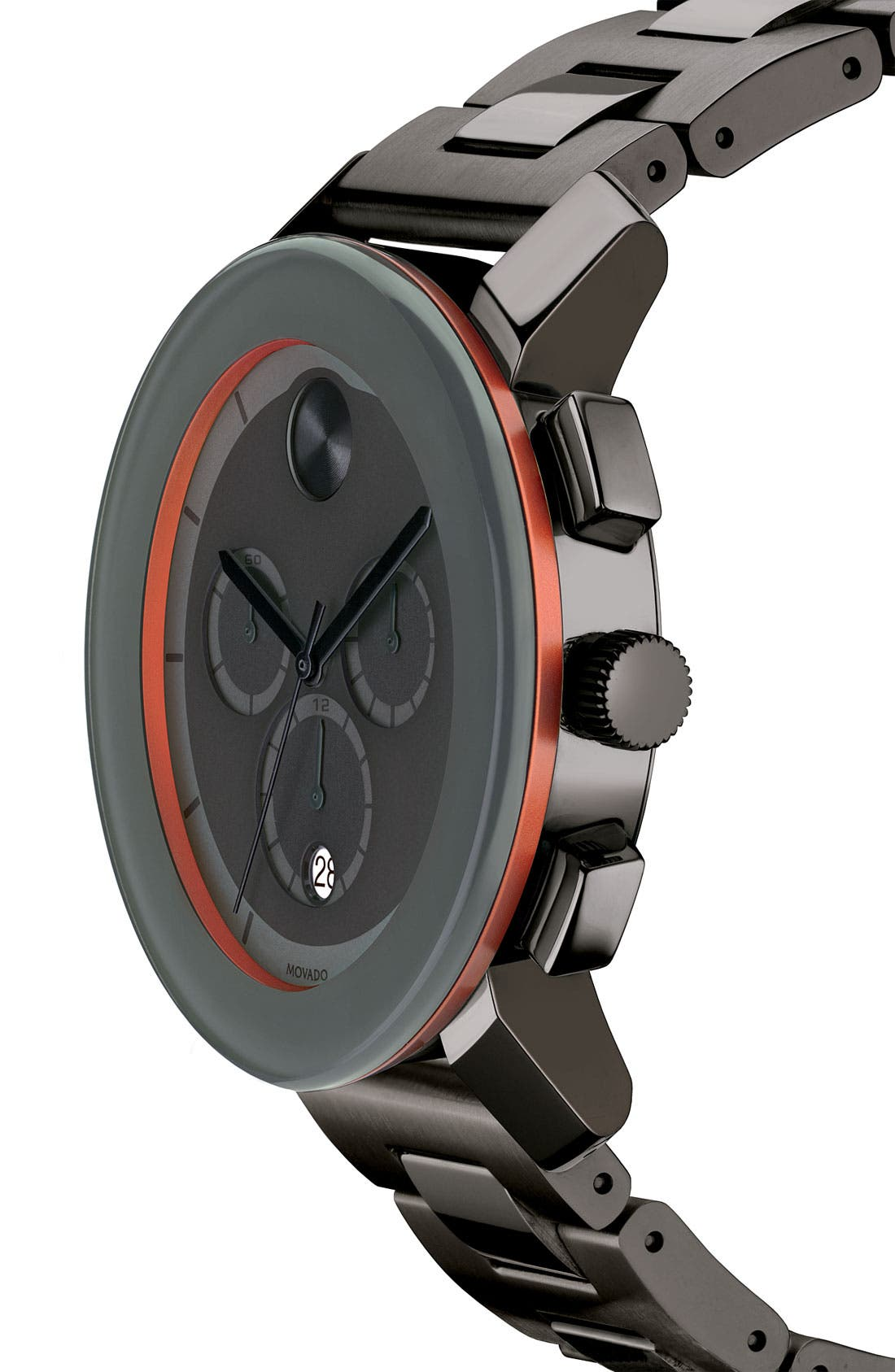 Alternate Image 2  - Movado 'Large Bold Chronograph' Bracelet Watch, 43mm