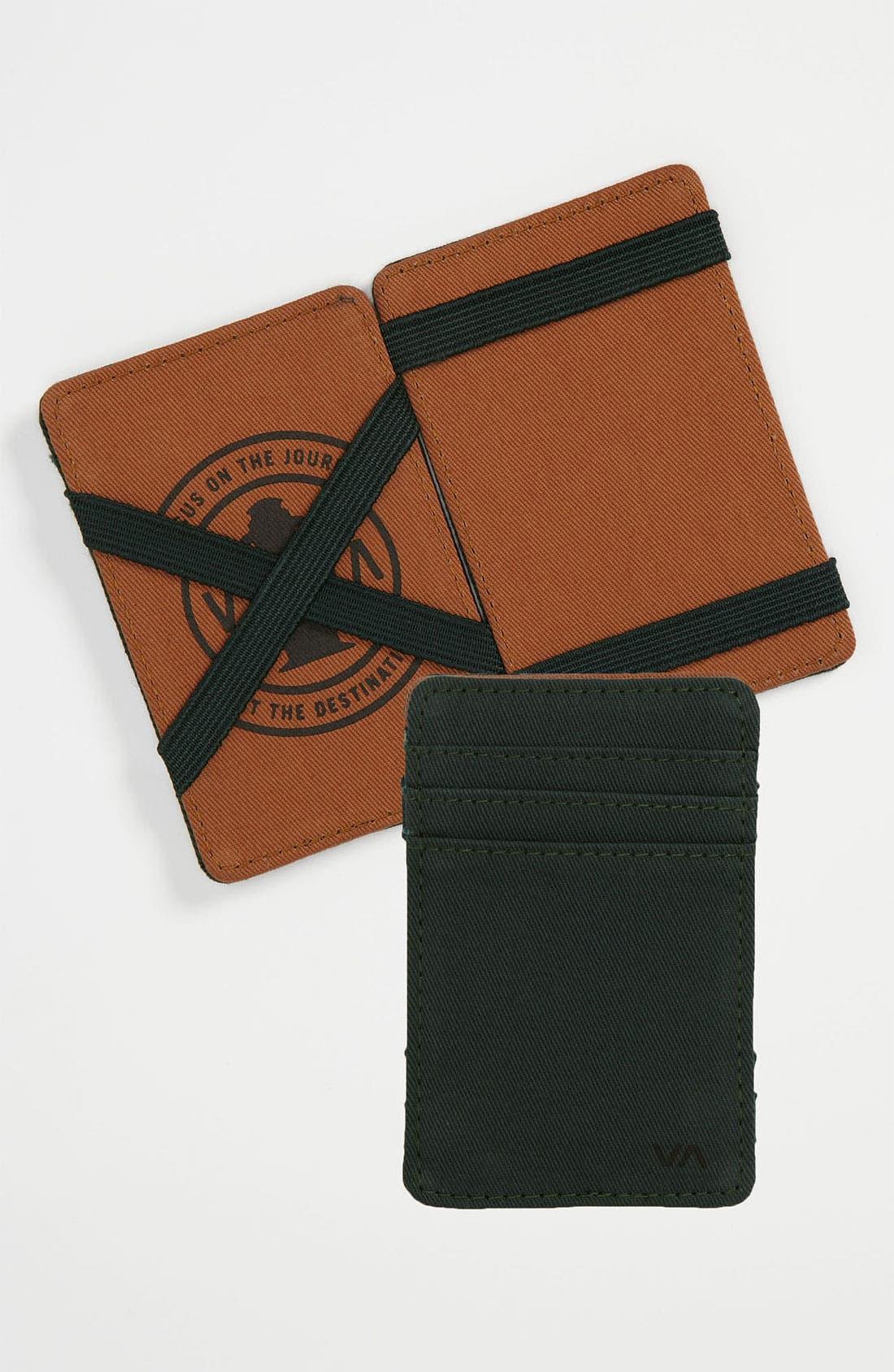 Alternate Image 1 Selected - RVCA 'Magic Lite' Wallet