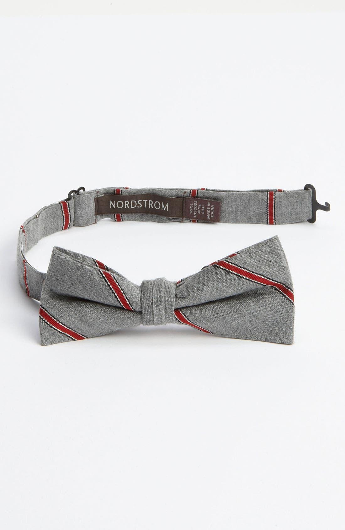 Alternate Image 1 Selected - Nordstrom Silk Blend Bow Tie (Little Boys)