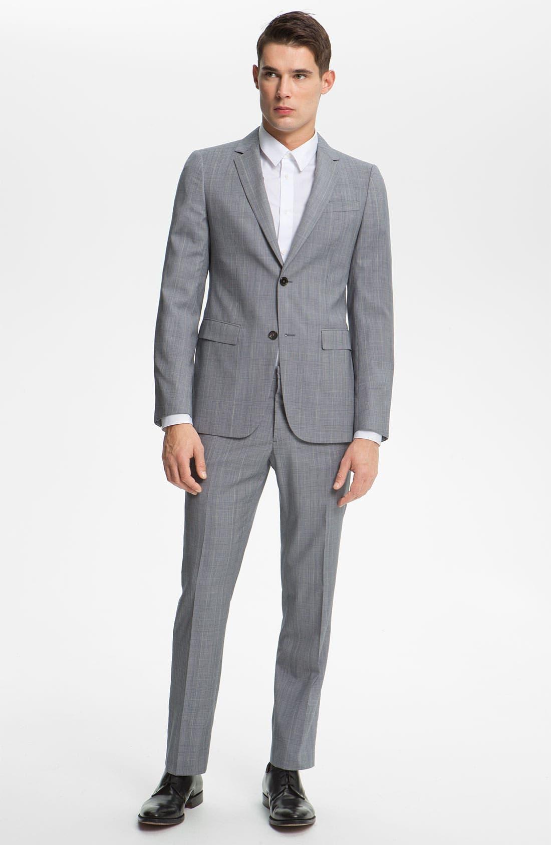 Alternate Image 2  - Jil Sander Glen Plaid Suit