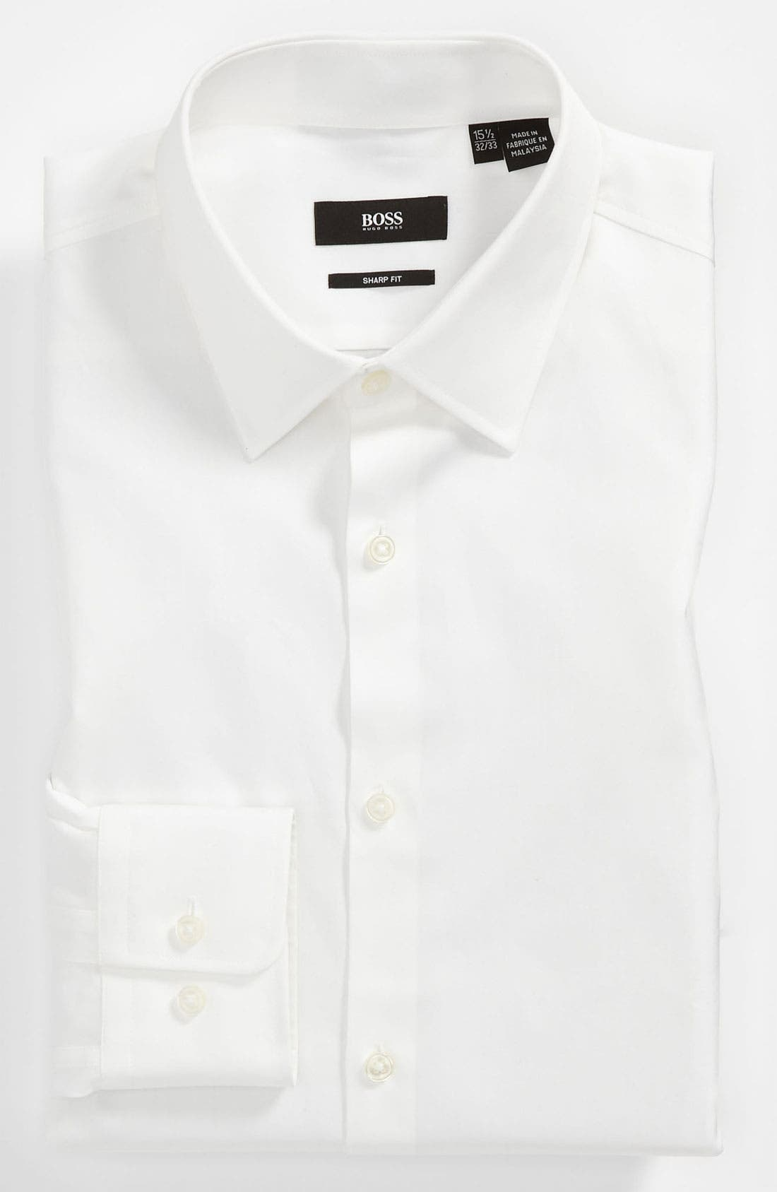 Main Image - BOSS 'Marlow' Sharp Fit Dress Shirt